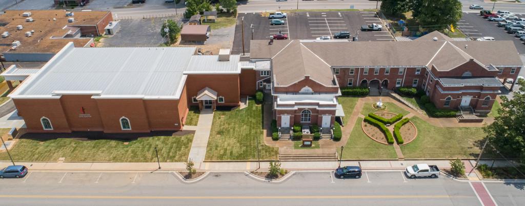 church_aerial